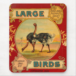 Large Birds Mouse Pad