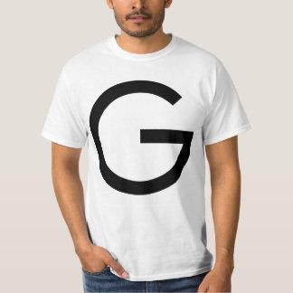 Large black Gulden symbol on the front side T-Shirt