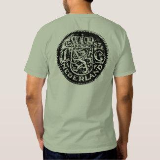 Large black Gulden symbol & One Gulden back T-Shirt