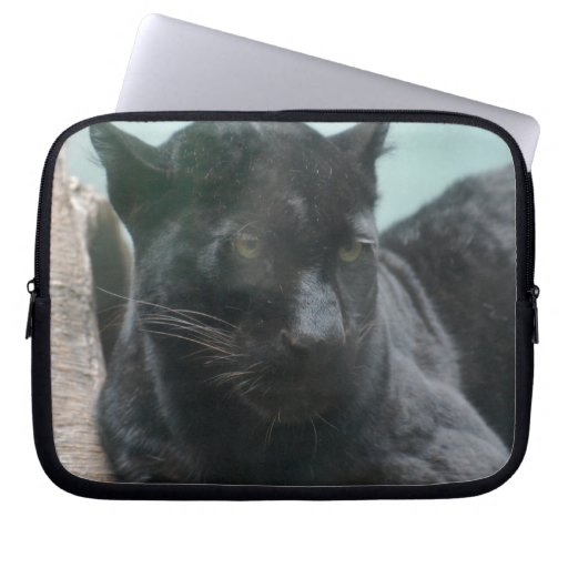 Large Black Panther Laptop Sleeve