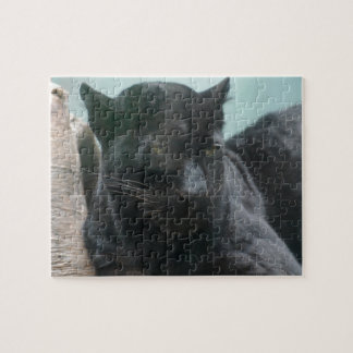 Large Black Panther Puzzle