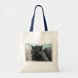 Large Black Panther  Small Tote Bag