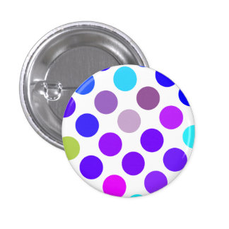 Large Blue And Purple Dots Button