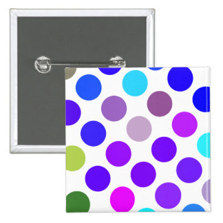 Large Blue And Purple Dots Pins