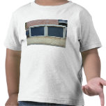 Large Blue Carriage Doors Tee Shirt