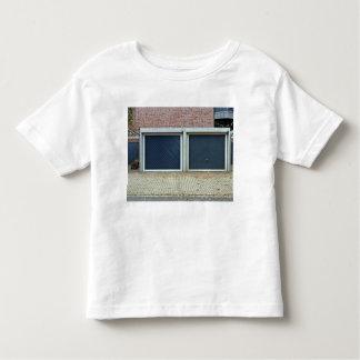 Large Blue Carriage Doors Toddler T-shirt