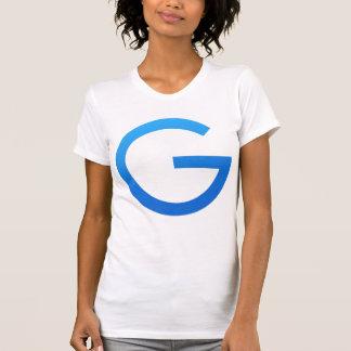 Large blue Gulden symbol front & 1 Gulden back T-Shirt