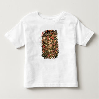 Large bouquet of flowers in a wooden tub toddler t-shirt