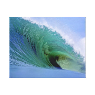 Large Breaking Wave Nias Island Canvas