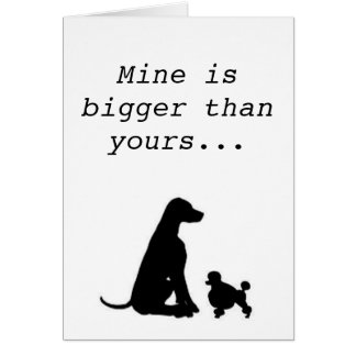 Large Breed Lover Card