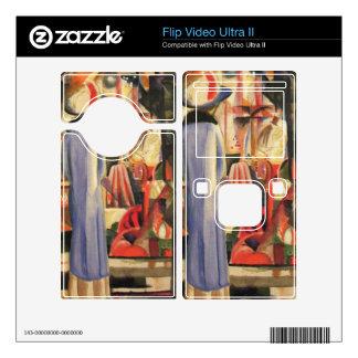 Large bright showcase by August Macke Flip Ultra II Decal