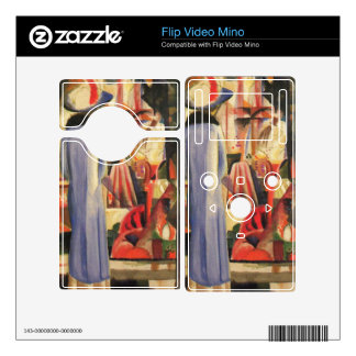 Large bright showcase by August Macke Decals For The Flip Mino
