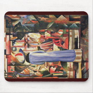 Large Bright Showcase By Macke August Mousepads