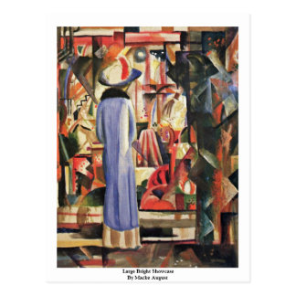 Large Bright Showcase By Macke August Post Cards