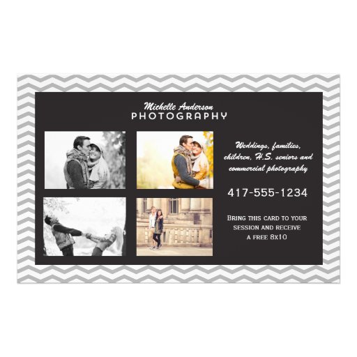 Large Brochure for Photography Business Full Color Flyer