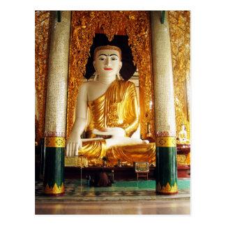 Large Buddha Statue Postcard