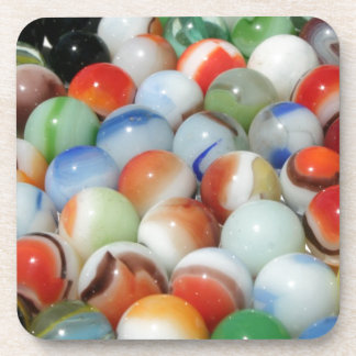 Large Bunch of Marbles Drink Coaster