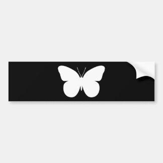 Large Butterfly Bumper Sticker