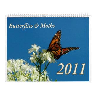 Large Butterfly & Moth Calendar