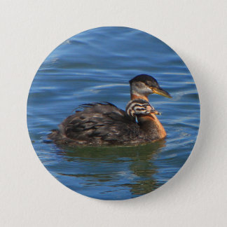 Large Buttons, Baby Grebe. Button
