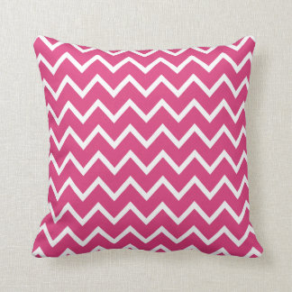 Large Cabaret Red Chevron Pillow