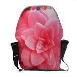 Large Camellia Messenger Bag