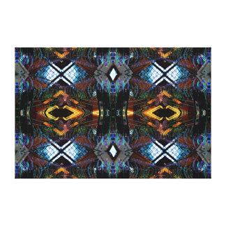 Large Canvas Complex Geometric Modern Bold 1