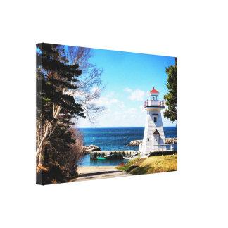 Large Canvas of Hampton Lighthouse Nova Scotia