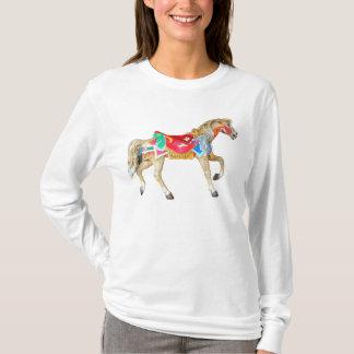 Large Carousel Horse T-Shirt