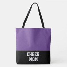 Large Cheer Mom Tote Bag at Zazzle