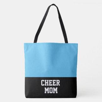 Large Cheer Mom Tote Bag