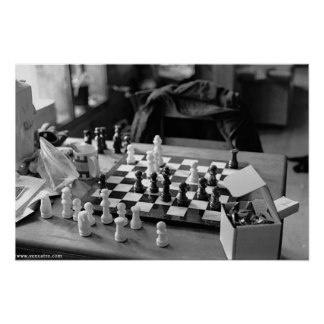 Large Chess Poster