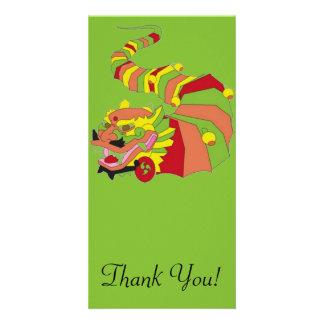 Large Chinese Dragon Card