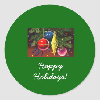 Large Christmas Ornaments Stickers