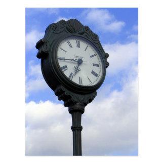 Large Clock Postcard