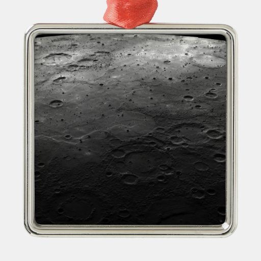 Large craters on the planet Mercury Christmas Tree Ornament