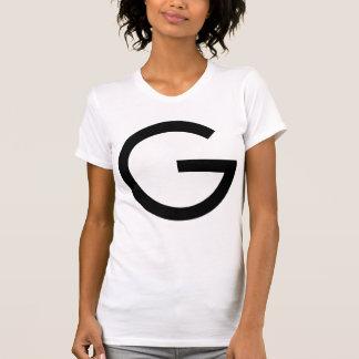Large crypto Gulden symbol front & 1 Guilder back T-Shirt