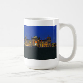 Large cup Berlin Reichstag in the evening