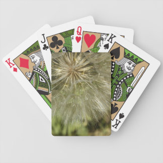Large Dandelion Wishes Bicycle Playing Cards