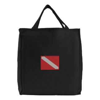 Large Diving Flag Embroidered Bag