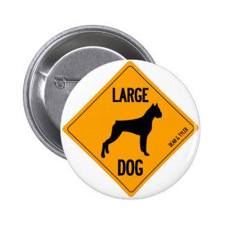 """Large Dog"" Pins"