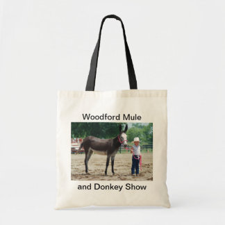 Large donkey tote bag