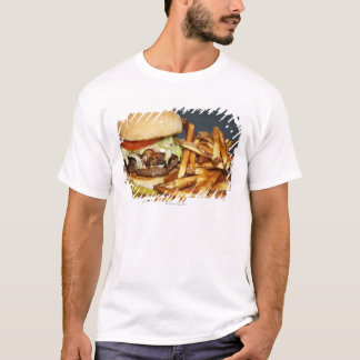 large double half pound burger fries and cola T-Shirt
