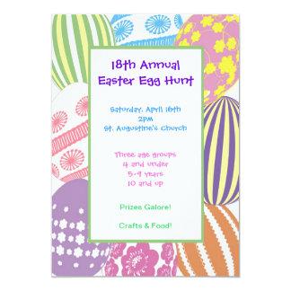 Large Easter Egg Invitation