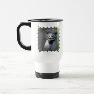 Large Emu Plastic Travel Mug