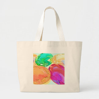 Large Faceted Vintage Jewels Tote Bags