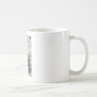 Large Fat Lady Classic White Coffee Mug
