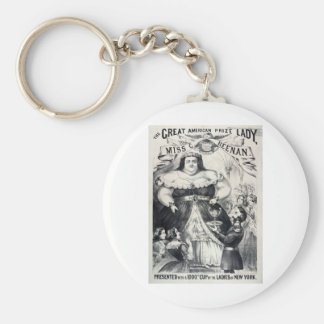 Large Fat Lady Keychains