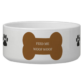 LARGE FEEDING DOG BOWL