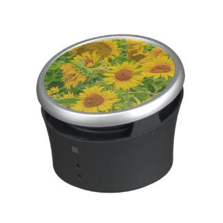 Large field of sunflowers near Moses Lake, WA 2 Bluetooth Speaker